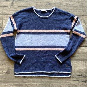 e.d.c. by Esprit | Fuzzy Stripe Sweater